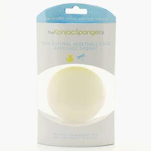 Konjac Sponge Premium Baby (Hvid)