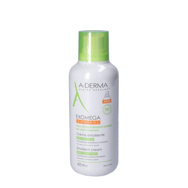 A-Derma Exomega Control Emollient Cream (400 ml)