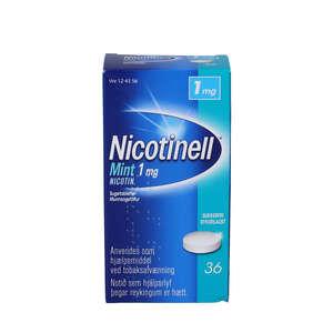 Nicotinell Mint 1 mg 36 stk