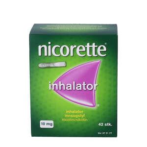 Nicorette 10 mg inhalatorer refill 42 stk