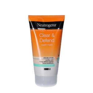 Neutrogena Clear & Defend Wash-Mask