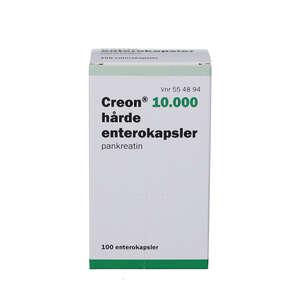 Creon 10.000 (PA) hårde kapsler