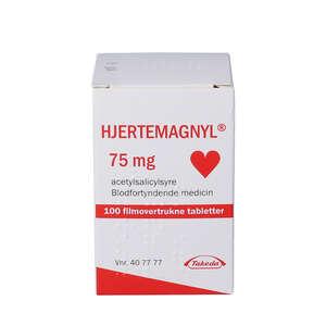Hjertemagnyl 75 mg 100 stk