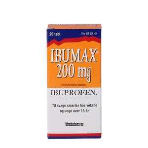 Ibumax 200 mg 20 stk