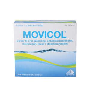 Movicol breve til oral opløsning 8 stk